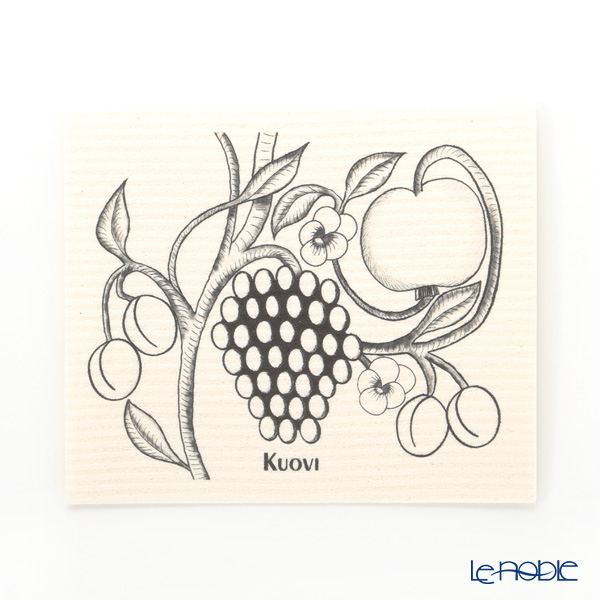 Kuovi 'Paratiisi Orchard' Black Kitchen Wipe