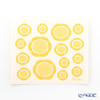 Kuovi Covey Sunday Morning Yellow Kitchen Wipe