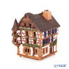 Midene Art Studio 'House of Quelsvale - France' A235AR House with Aroma Lamp Function / Incense Burner with LED candle H12cm