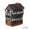 Midene Art Studio 'Creperie in Le Mont-Saint-Michel - France' A258N House with Aroma Lamp Function / Incense Burner with LED candle H13.5cm