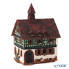 Midene Art Studio 'Albert Schweitzer's House - France' B288AR House with Aroma Lamp Function / Incense Burner with LED candle H19.5cm