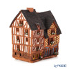 Midene Art Studio 'House of Rennes - France' B299AR House with Aroma Lamp Function / Incense Burner with LED candle H14cm