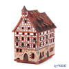 Midene Art Studio 'Pilatushaus in Nuremberg, Germany' B338AR House with Aroma Lamp Function / Incense Burner with LED candle H15cm