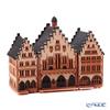Midene Art Studio 'City Hall in Frankfurt, Germany' C233N House / Incense Burner with LED candle H21.5cm