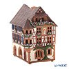 Midene Art Studio 'House of Quellesvale -  France' C264AR House with Aroma Lamp Function / Incense Burner with LED candle H18cm