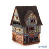 Midene Art Studio 'House of Rennes - France' C306AR House with Aroma Lamp Function / Incense Burner with LED candle H18.5cm