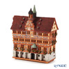 Midene Art Studio 'City Hall in Tubingen - Germany' D293N House with Aroma Lamp Function / Incense Burner with LED candle H21cm