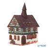 Midene Art Studio 'Schweitzer House in Segelsvale, France' D339AR House with Aroma Lamp Function / Incense Burner with LED candle H29cm