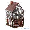 Midene Art Studio 'Kezelsvale Pottery House - France' D371AR House with Aroma Lamp Function / Incense Burner with LED candle H22.5cm