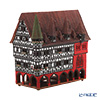 Midene Art Studio 'City Hall of Fulda - Germany' F217AR House / Incense Burner with LED candle H23cm