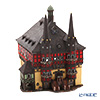 Midene Art Studio 'City Hall in Vernigerode - Germany' F231N House / Incense Burner with LED candle H30cm