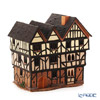 Midene Art Studio 'New inn in Oxford - United Kingdom' F236AR House with Aroma Lamp Function / Incense Burner with LED candle H28.5cm
