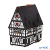 Midene Art Studio 'City Hall in Schotten, Germany' E21AR House / Incense Burner with LED candle H21.5cm