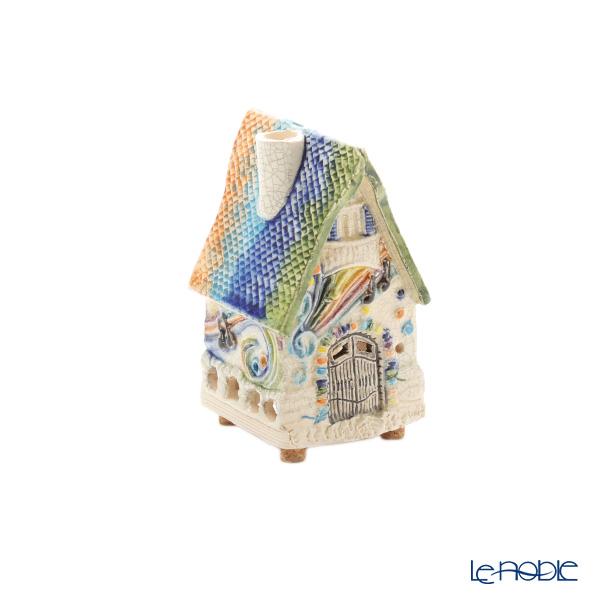 北欧リトアニア製陶器 ミデン MIDENE インセンスハウス/ミニチュアハウス ファンタジーハウス R506W
