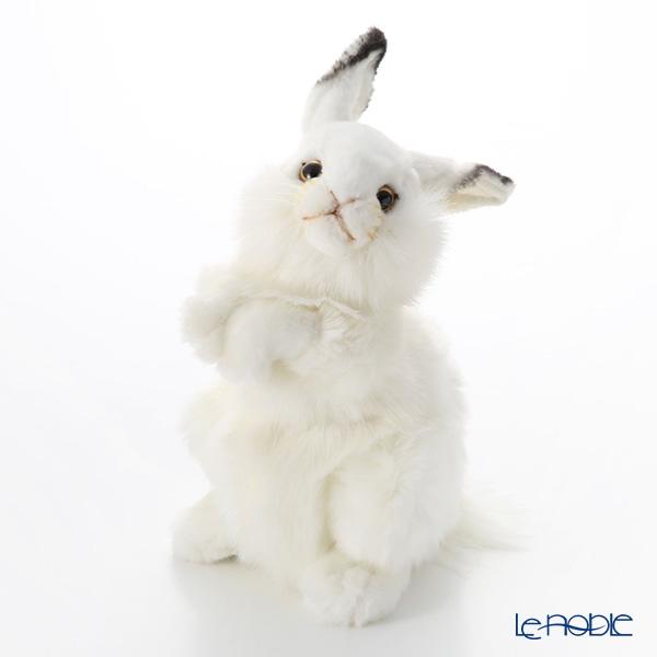 HANSA ぬいぐるみ 白ウサギ 3313