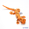 Hansa 'Spotted Salamander' Orange Black Plush Animal