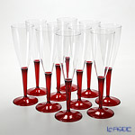 Mosaic MZCFRE Champagne Flute 125 ml レッドステム 10-piece set