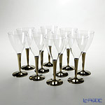 Mosaic MZGLGO Wine glass Gold Stem 10-piece set
