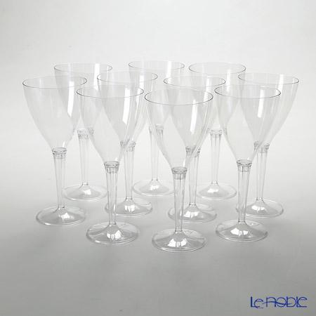 モザイク MZGLCLワイングラス クリアステム 10ピースセット