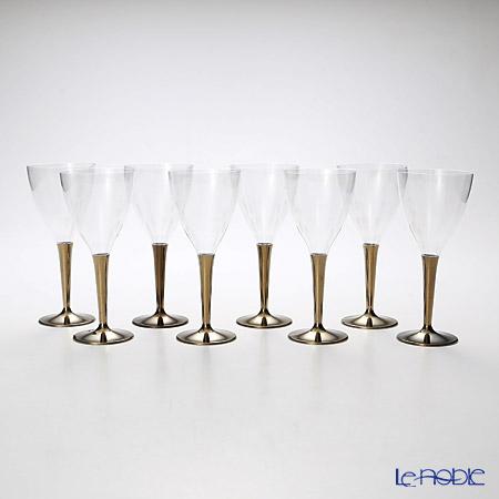 モザイク MZGL8GO ワイングラス ゴールドステム 8ピースセット