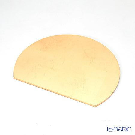 MDFプレースマット リバーシブル C1605A24 レッド/ゴールド 30×24
