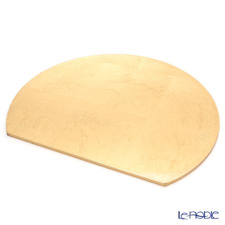 MDプレースマット リバーシブル C1606A30 ブラック/ゴールド 36×30cm