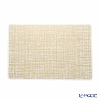 Shane plus silicone place mat 43.5 x 28.5 cm Weave gold ZPT24726G