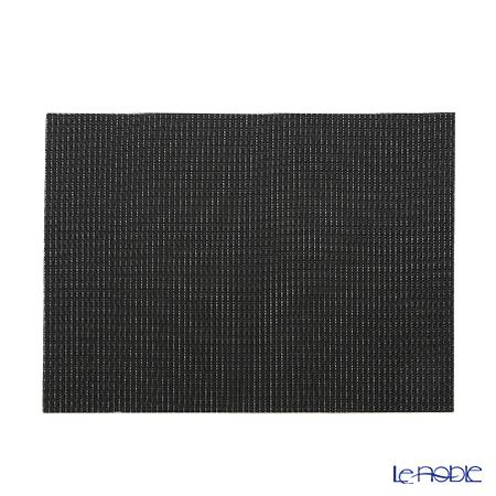 シェーンプラス ウィーブプリント プレースマット 43×30cm ブラック ZPT50525
