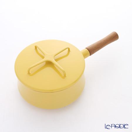 DANSK ダンスク 片手鍋 18cm 851832 イエロー ホーロー製