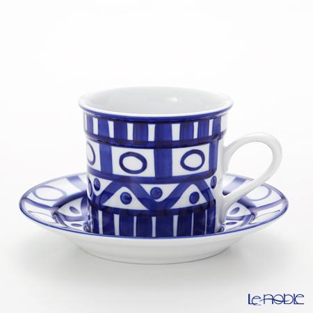 DANSK アラベスク S02208・9ALコーヒーカップ&ソーサー 180cc