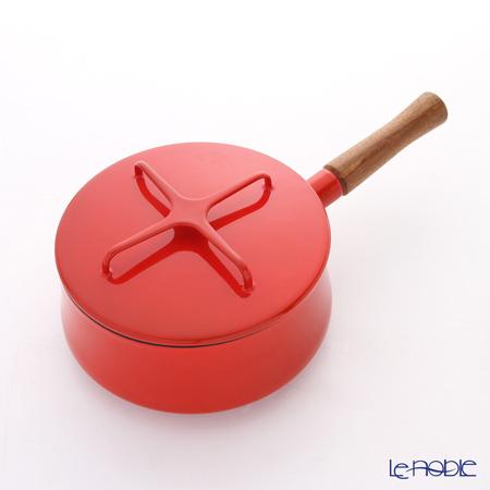 DANSK ダンスク 片手鍋 18cm 834298 チリレッド ホーロー製