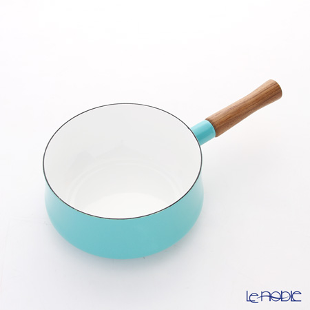 Dansk Kobenstyle Enamel Saucepan, teal 18 cm 833298