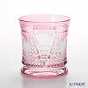 Toyo-Sasaki Glass Co. Yachiyo Kiriko Tumbler 270 ml, Sasayama-gata pattern, Red & Gold LS19551SAU-C652