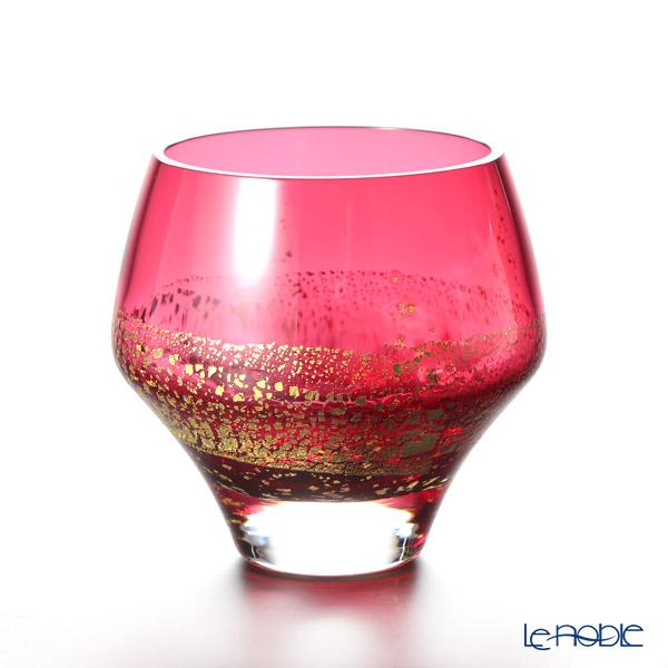東洋佐々木ガラス 江戸硝子 紅玻璃 LS19612RAU オンザロック 265ml