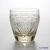 Toyo-Sasaki Glass Kohaku / Amber Glass On the Rock (S) 280 ml with wooden box 18912DGY-C691