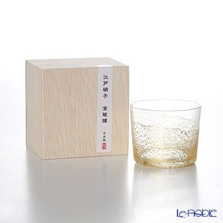 東洋佐々木ガラス 江戸硝子 金玻璃 10892 冷酒杯純米(大地) 120ml