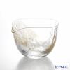 Toyo Sasaki Glass / Edo Glass 'Yachiyo Gama' Clear & Gold foil Lipped Cup 265ml 63705 东洋佐佐木玻璃 / 江戸硝子 '八千代窑' 单嘴钵子