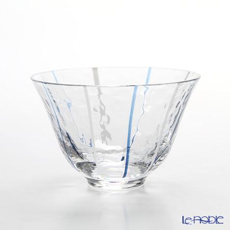 和がらす 10768 冷酒グラス 90ml ブルー