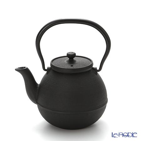 Oigen, Nambu Tetsubin (Nambu Iron Teapot) Urceolate shape, Single-cut pattern enamel coated inside teapot 0.5L