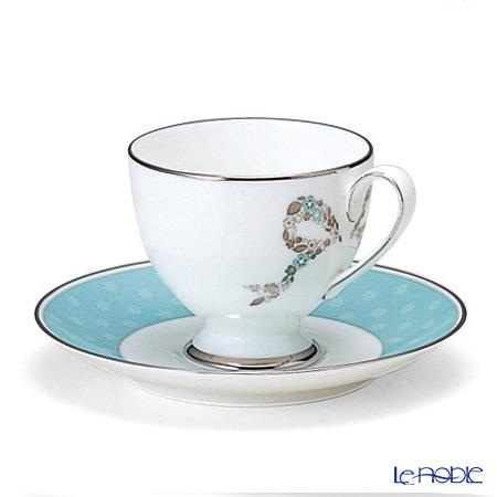 ナルミ フェリシータ! コーヒー碗皿(1客) 50626-20857 ブルー