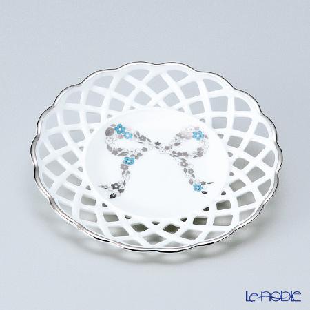 Narumi 'Ferishita!' Blue 50626-814 Mesh / Openwork Coaster 12cm