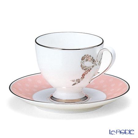 ナルミ フェリシータ!コーヒー碗皿(1客) ピンク 50731-20857