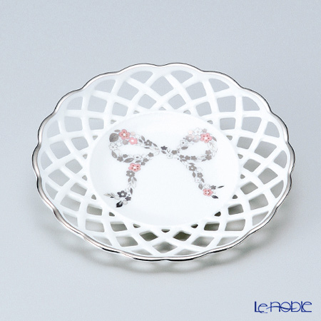 Narumi 'Ferishita!' Pink 50731-814 Mesh / Openwork Coaster 12cm