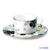 Narumi 'Floral Paradise' Beige 51069-21805 Tea / Coffee Cup (combined) & Saucer 240ml