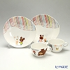 Narumi 'The Bear's School' 41140-33031 Mug, Plate (set of 4 for 2 persons)