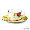 Narumi floral paradise Tea coffee cup plate (yellow) 51183-21805