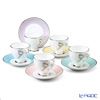 Narumi felicito! Coffee Cup plate 5 set 8 (assorted) 96132-21755
