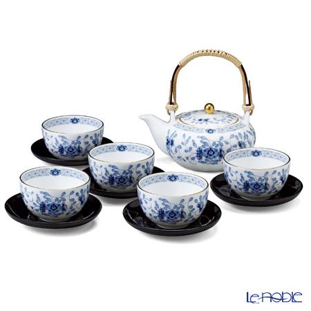 ナルミ ミラノ茶器揃い(茶托付) 5人用 9682-23031