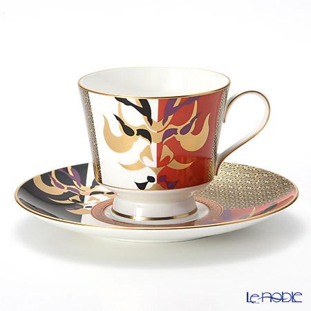 ナルミ 伊勢志摩(ISE SHIMA) 歌舞伎コーヒーカップ&ソーサー 51971-6794 230cc