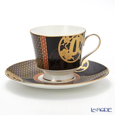 ナルミ 伊勢志摩(ISE SHIMA) 忍者コーヒーカップ&ソーサー 51970-6794 230cc